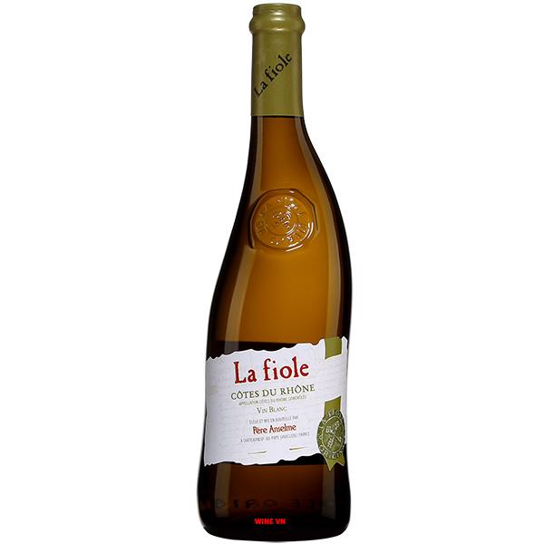 Rượu Vang La Fiole Cote De Rhone Blanc