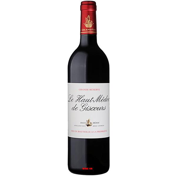 Rượu Vang Le Haut Medoc De Giscours