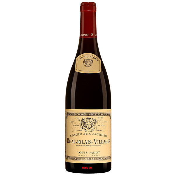 Rượu Vang Louis Jadot Combe Aux Jacques Beaujolais Villages