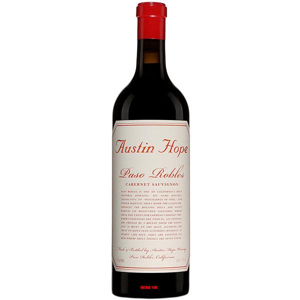 Rượu Vang Mỹ Austin Hope Cabernet Sauvignon