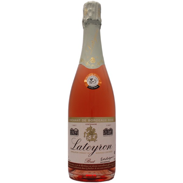 Rượu Vang Nổ Lateyron Centenaire Brut Rose