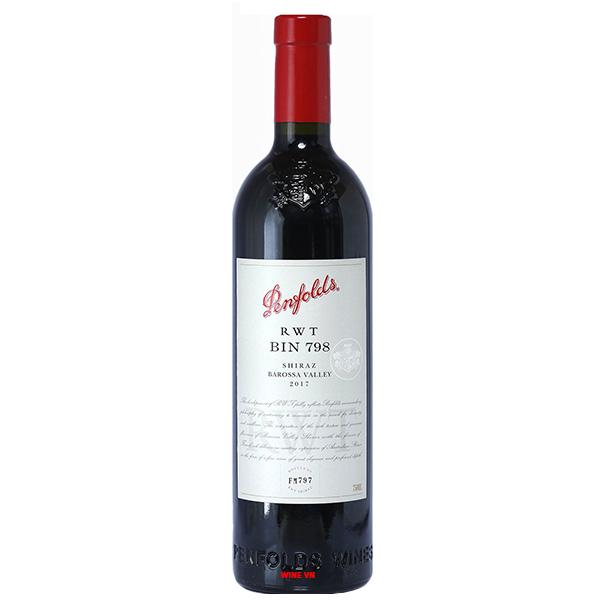 Rượu Vang Penfolds RWT Bin 798 Shiraz