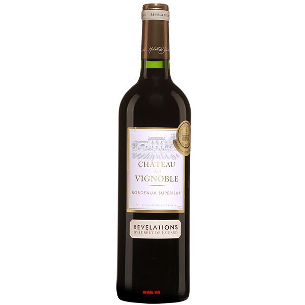 Rượu Vang Pháp Chateau Au Vignoble Bordeaux Superior