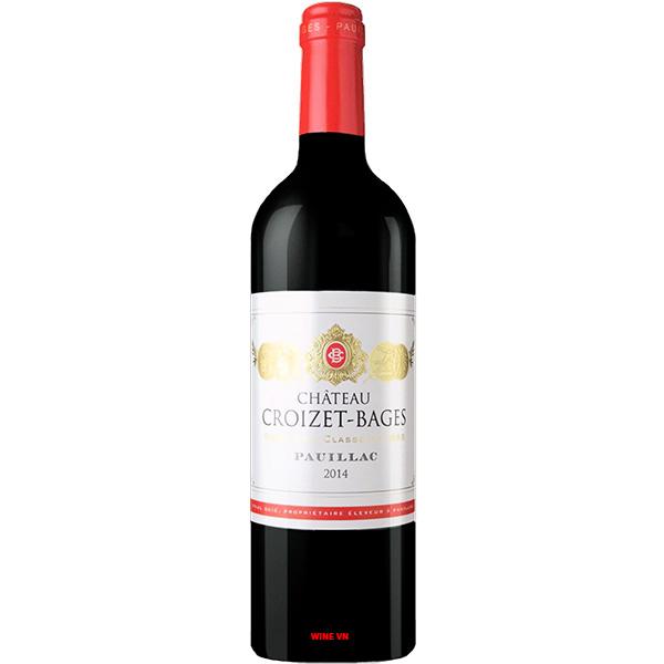 Rượu Vang Pháp Chateau Croizet Bages