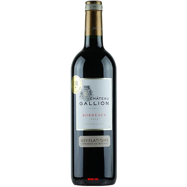 Rượu Vang Pháp Chateau Galion Bordeaux