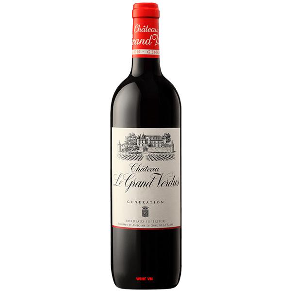 Rượu Vang Pháp Chateau Le Grand Verdus Generation