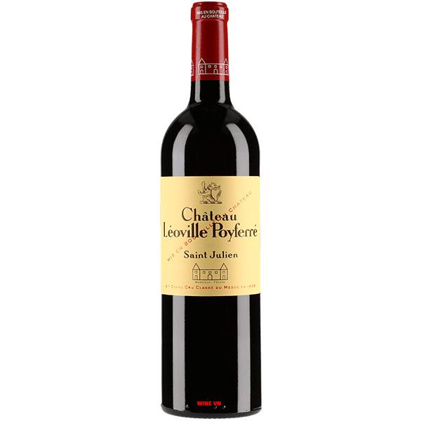 Rượu Vang Pháp Chateau Leoville Poyferre