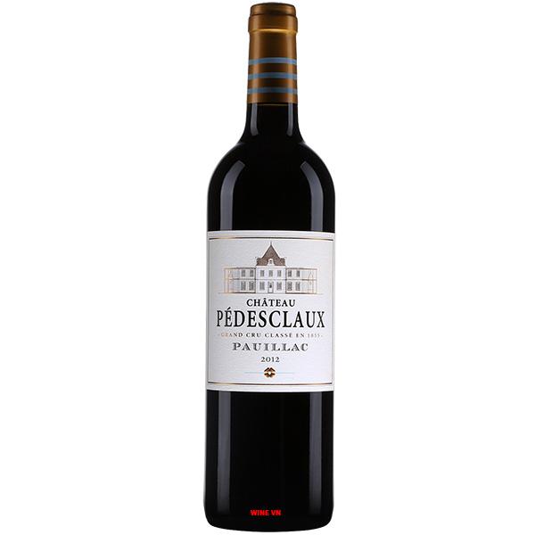 Rượu Vang Pháp Chateau Pedesclaux Pauillac