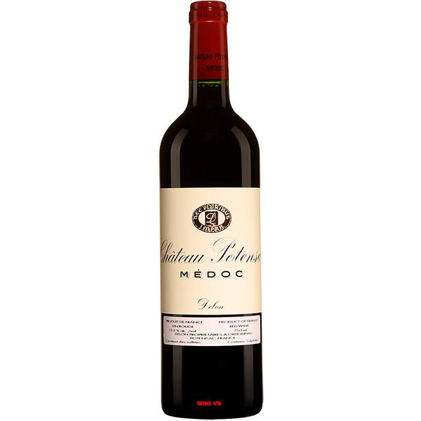 Rượu Vang Pháp Chateau Potensac Medoc