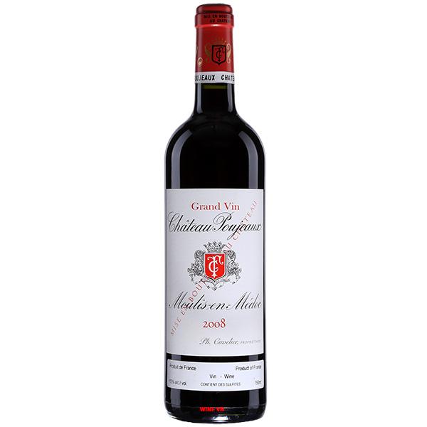 Rượu Vang Pháp Chateau Poujeaux Moulis en Medoc