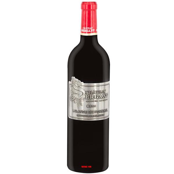 Rượu Vang Pháp Chateau Sergant