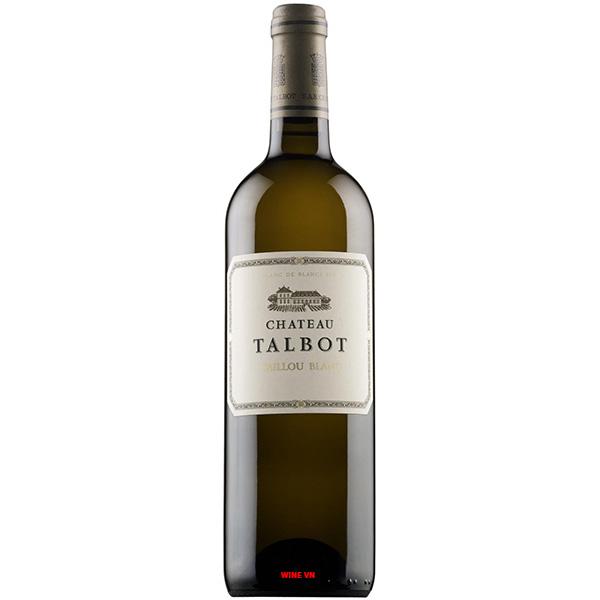 Rượu Vang Pháp Chateau Talbot Caillou Blanc