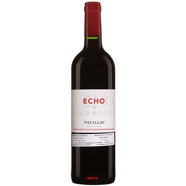 Rượu Vang Pháp Echo De Lynch Bages Pauillac