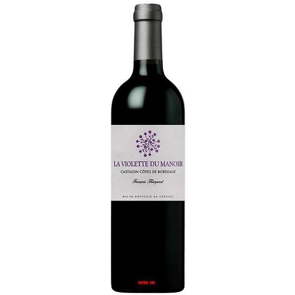 Rượu Vang Pháp F.Thienpont La Violette Du Manoir