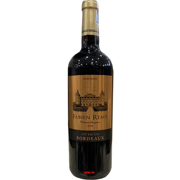Rượu Vang Pháp Fabien Remy Bordeaux