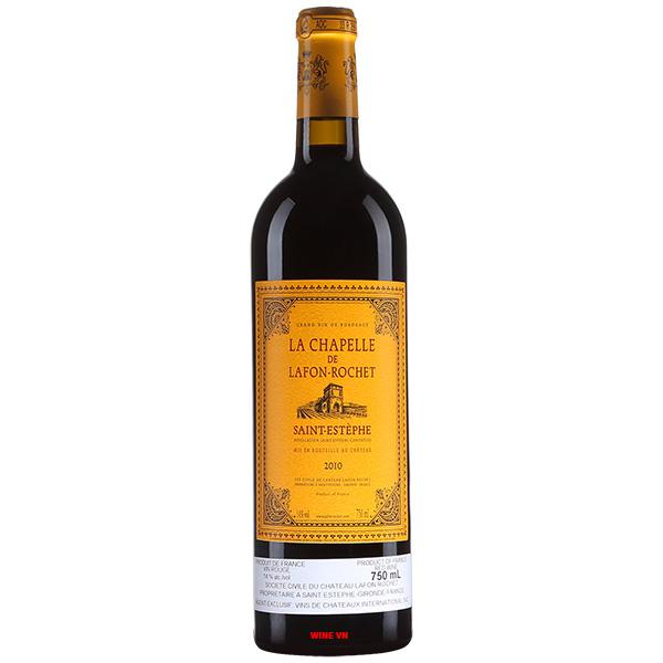 Rượu Vang Pháp La Chapelle De Lafon Rochet