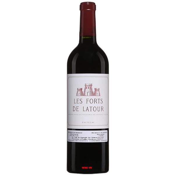Rượu Vang Pháp Les Forts De Latour