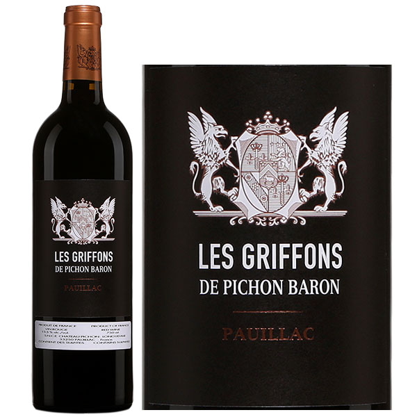 Rượu Vang Pháp Les Griffons De Pichon Baron
