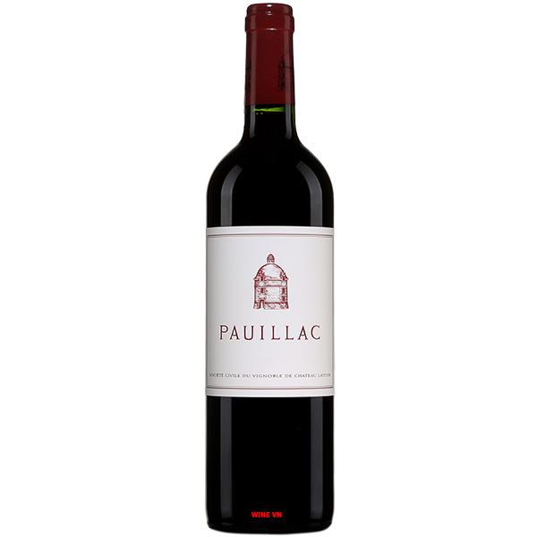 Rượu Vang Pháp Pauillac De Chateau Latour