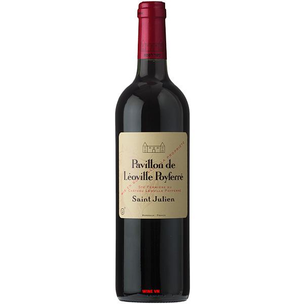 Rượu Vang Pháp Pavillon De Leoville Poyferre