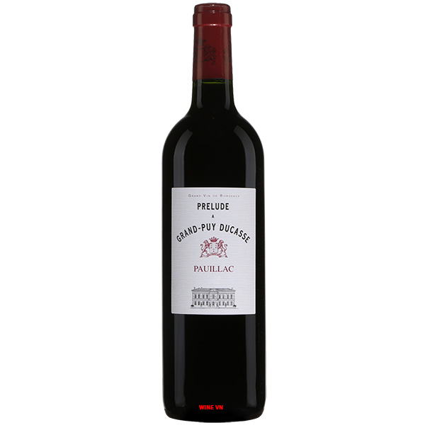 Rượu Vang Pháp Prelude A Grand Puy Ducasse