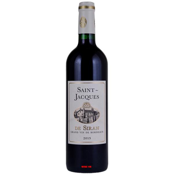 Rượu Vang Pháp Saint Jacques De Siran