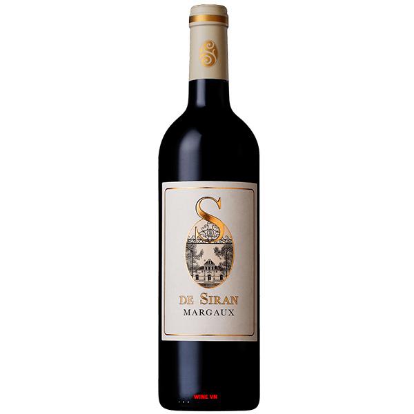 Rượu Vang S De Siran Margaux
