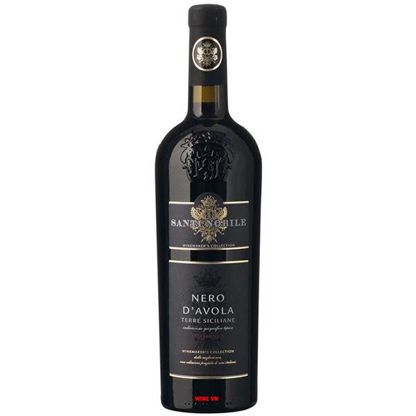 Rượu Vang Santi Nobile Nero D'Avola