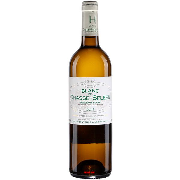 Rượu Vang Trắng Blanc De Chasse Spleen