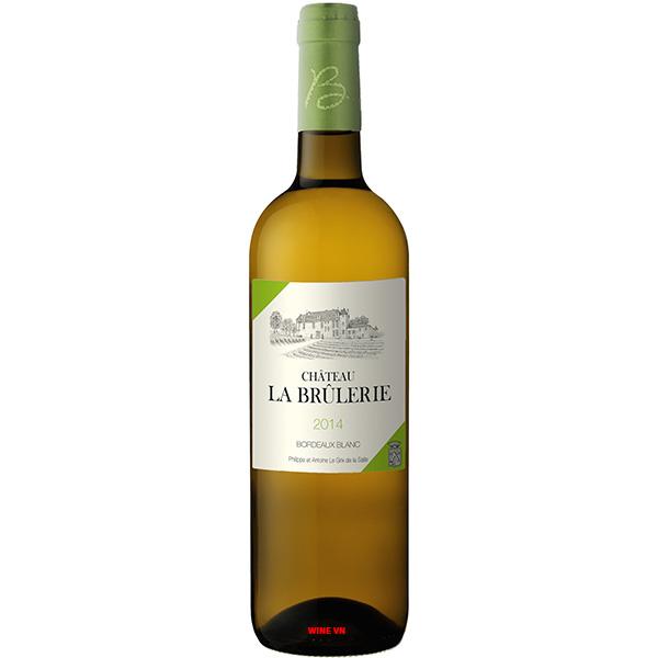 Rượu Vang Trắng Chateau La Brulerie
