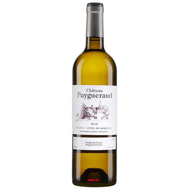 Rượu Vang Trắng Chateau Puygueraud
