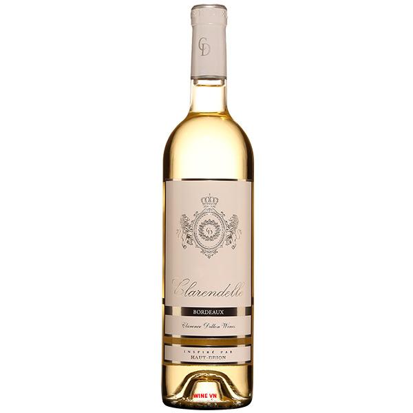 Rượu Vang Trắng Clarendelle Inspire Par Haut Brion