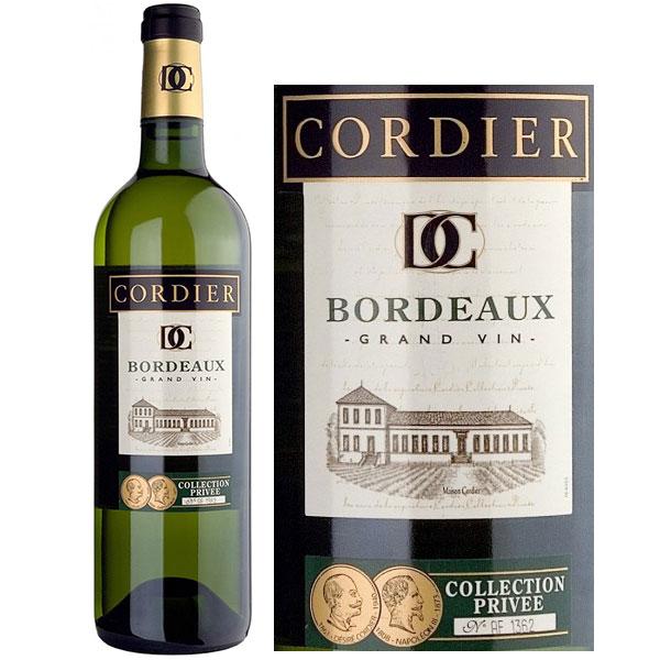 Rượu Vang Trắng Cordier Collection Privee