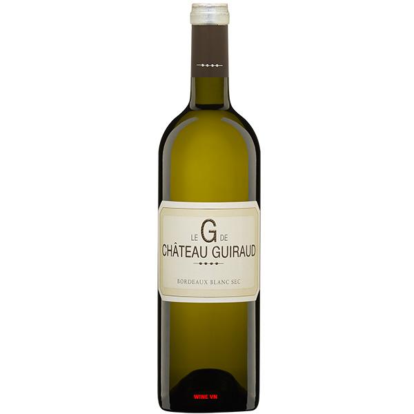 Rượu Vang Trắng Le G De Chateau Guiraud