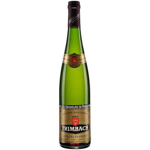 Rượu Vang Trimbach Gewurztraminer Cuvee Des Seigneurs De Ribeaupierre