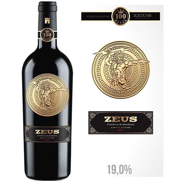 Rượu Vang Zeus Primitivo