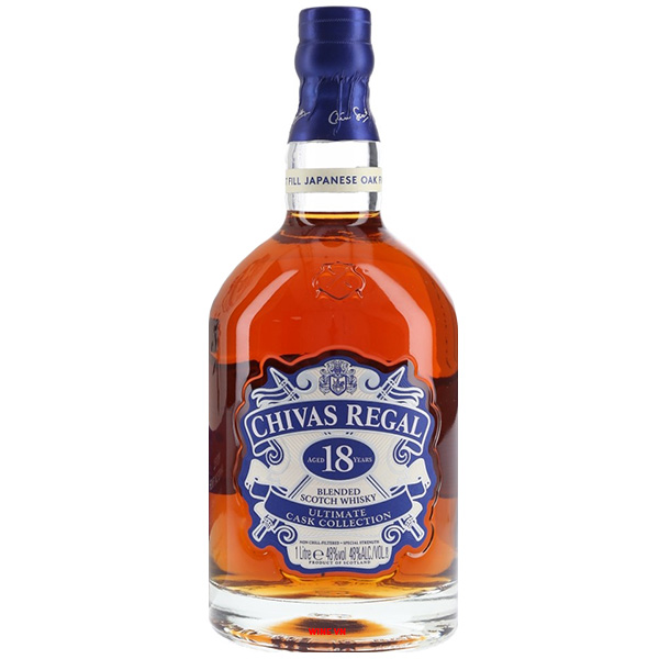 Rượu Chivas Regal 18 First Fill Japanese Oak Finish