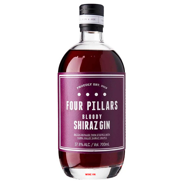 Rượu Four Pillars Bloody Shiraz Gin