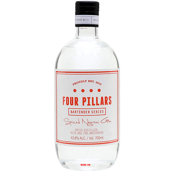 Rượu Four Pillars Bloody Spiced Negroni Gin