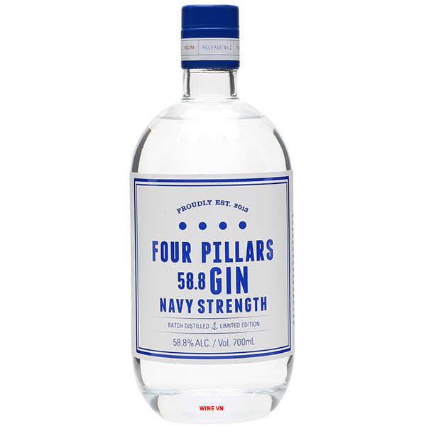 Rượu Gin Four Pillars Navy Strength
