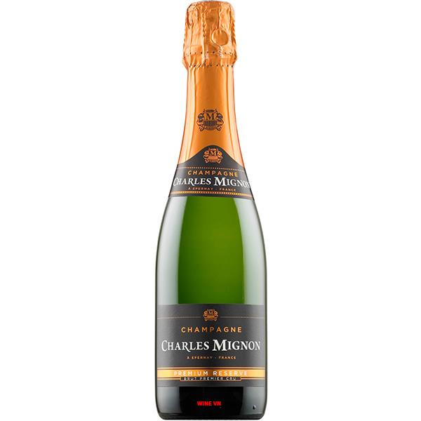 Rượu Champagne Charles Mignon Premium Reserve