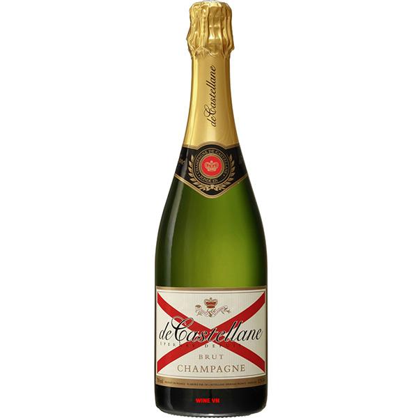 Rượu Champagne De Castellane Brut