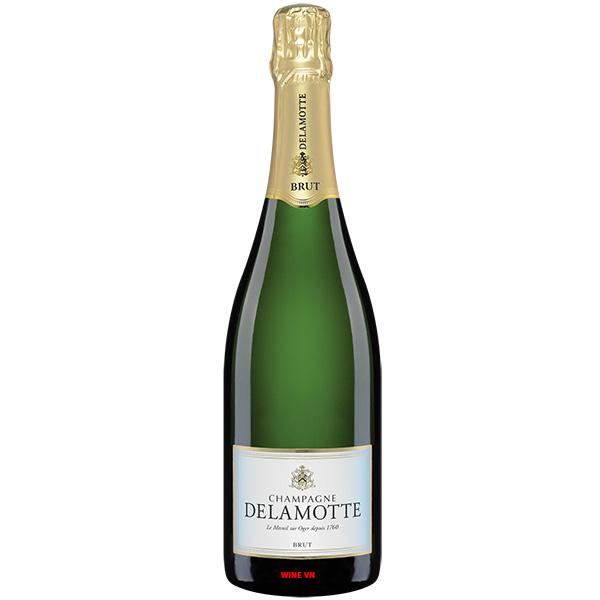 Rượu Champagne Delamotte Brut