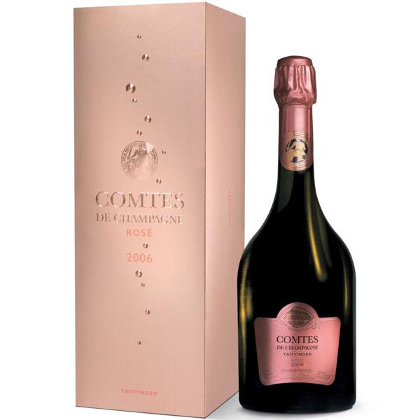 Rượu Champagne Taittinger Comtes De Champagne Taittinger Rose