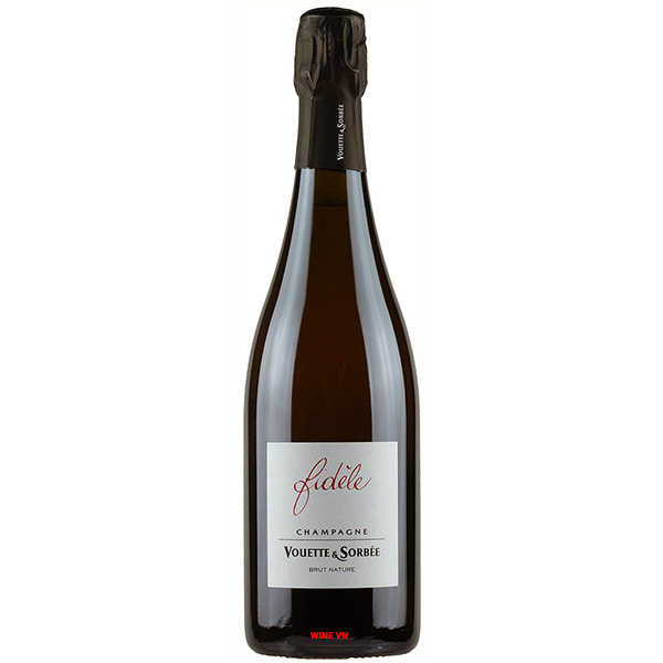 Rượu Champagne Vouette Et Sorbee Fidele