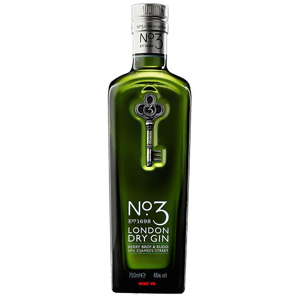 Rượu No.3 London Dry Gin
