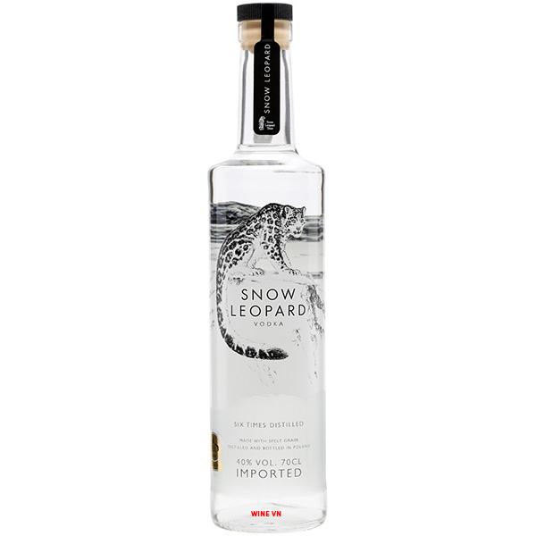 Rượu Snow Leopard Vodka