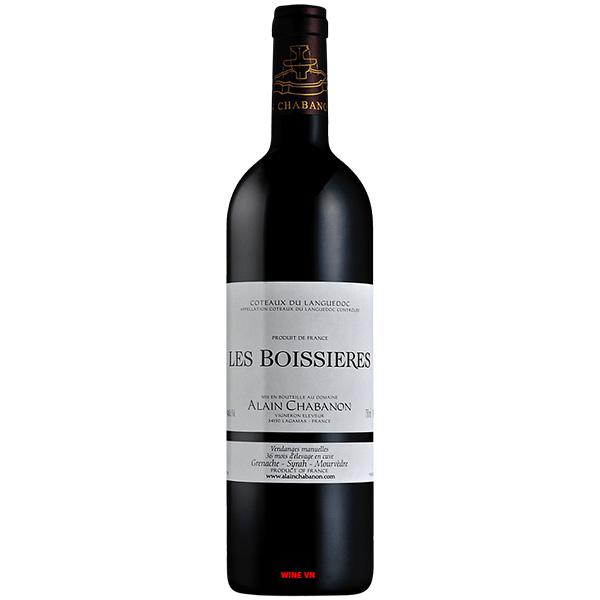 Rượu Vang Alain Chabanon Les Boisieres