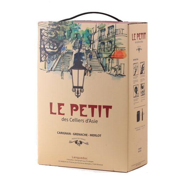 Rượu Vang Bịch Le Petit Des Celliers d'Asie