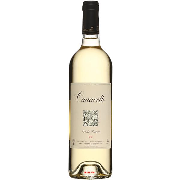 Rượu Vang Canarelli BG Vin De France